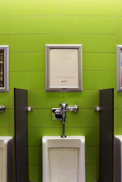 Washroom Ad - UBC