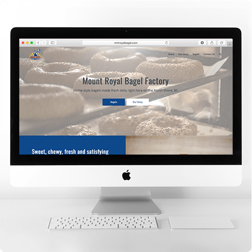 Mount Royal Bagel Factory Website