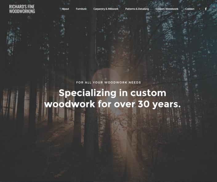 Richard's Fine Woodworking Home Page
